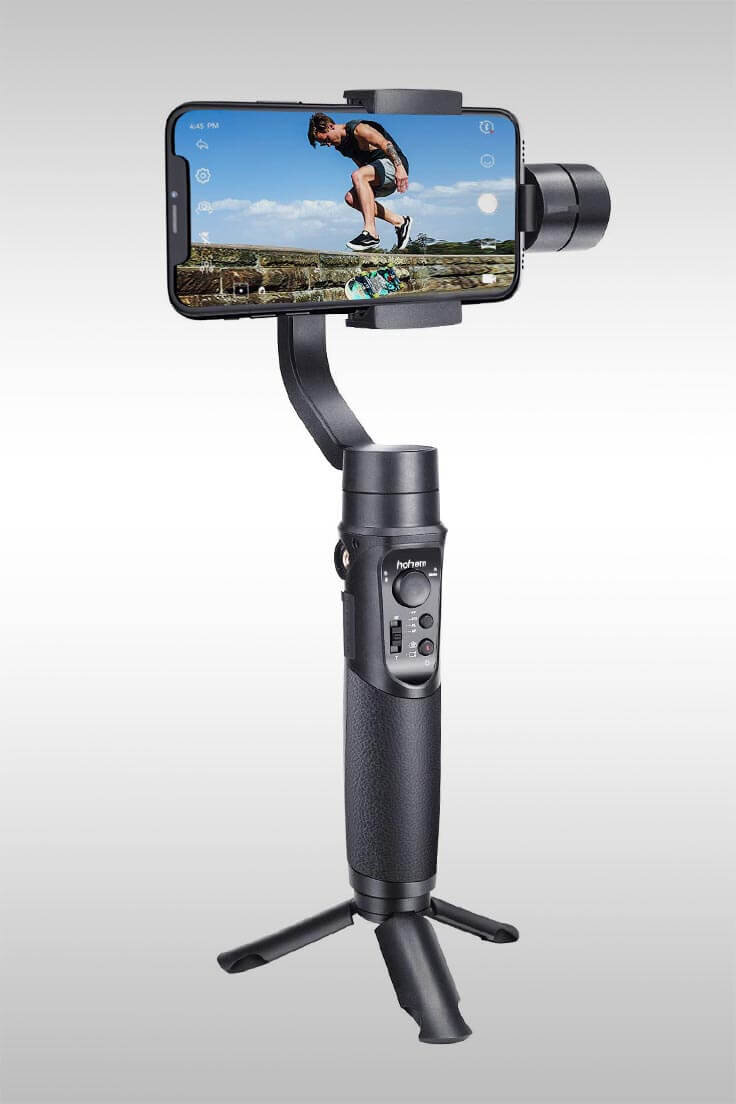 3-Axis Handheld Stabilizer - Image Credit: Hohem Technologies
