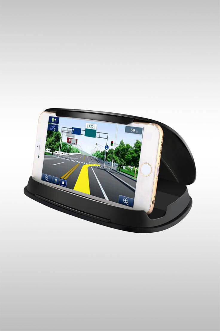 Phone Cradle With Silicone Pad - Image Credit: Bosnoy