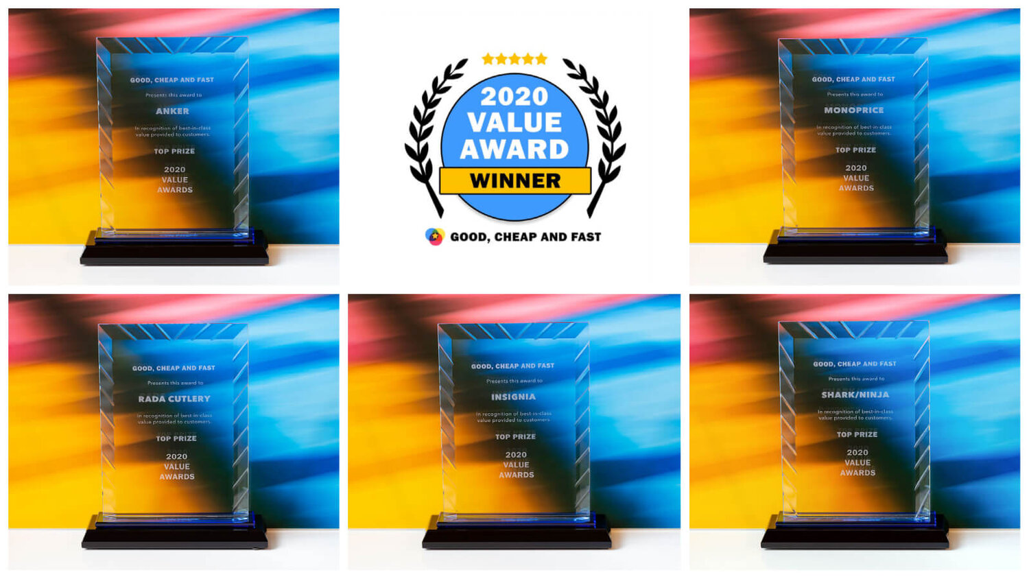 Good, Cheap and Fast's 2020 Value Award Winners