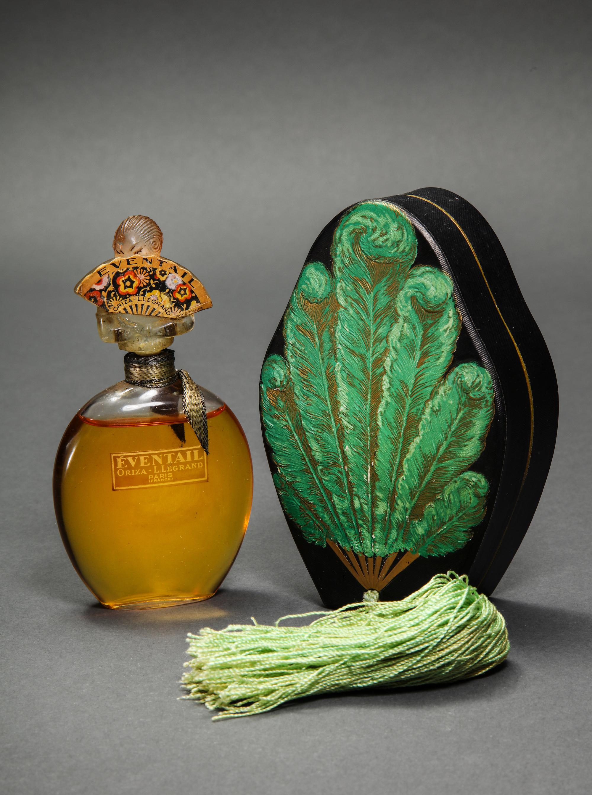 1925 Oriza L. Legrand  Eventail  $39,000