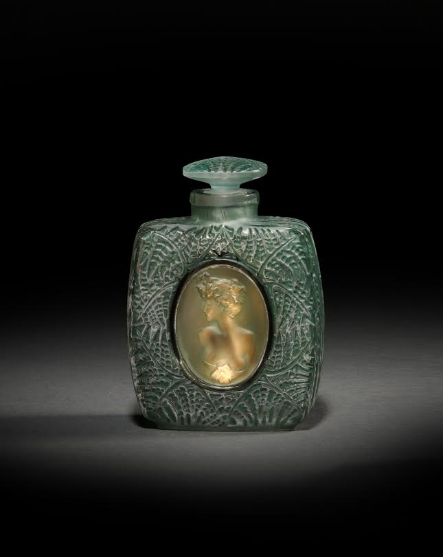 "1912 Lalique ""Fougeres"" Perfume Bottle $33,600"