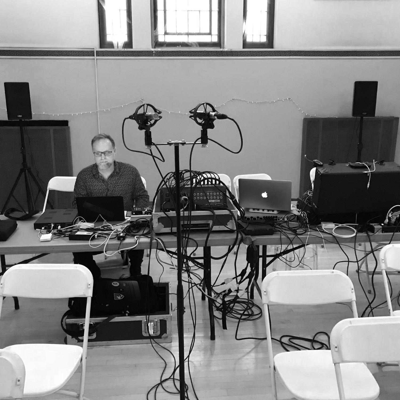 Quad Show setup / Scott Miller