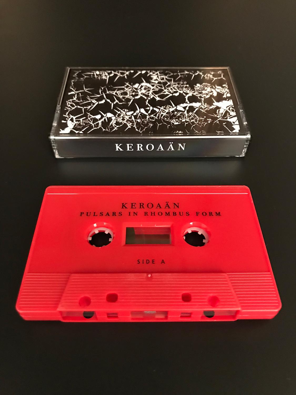 Ian M Fraser and Reed Evan Rosenberg's  Keroaan  project, released on Nada, 2018.