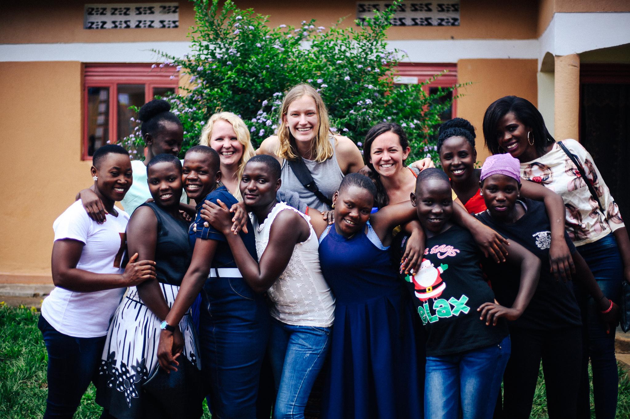 Girls in Uganda