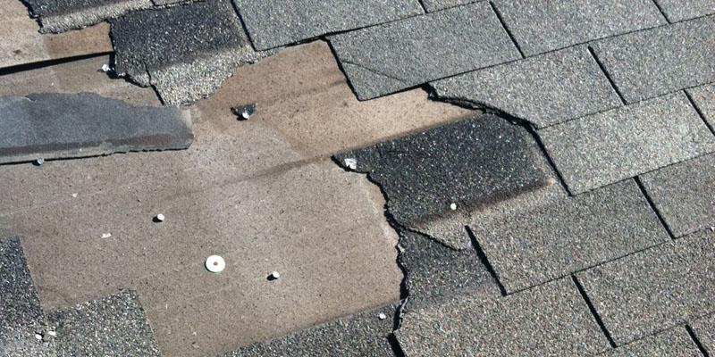 Shingle Roof Tile Missing