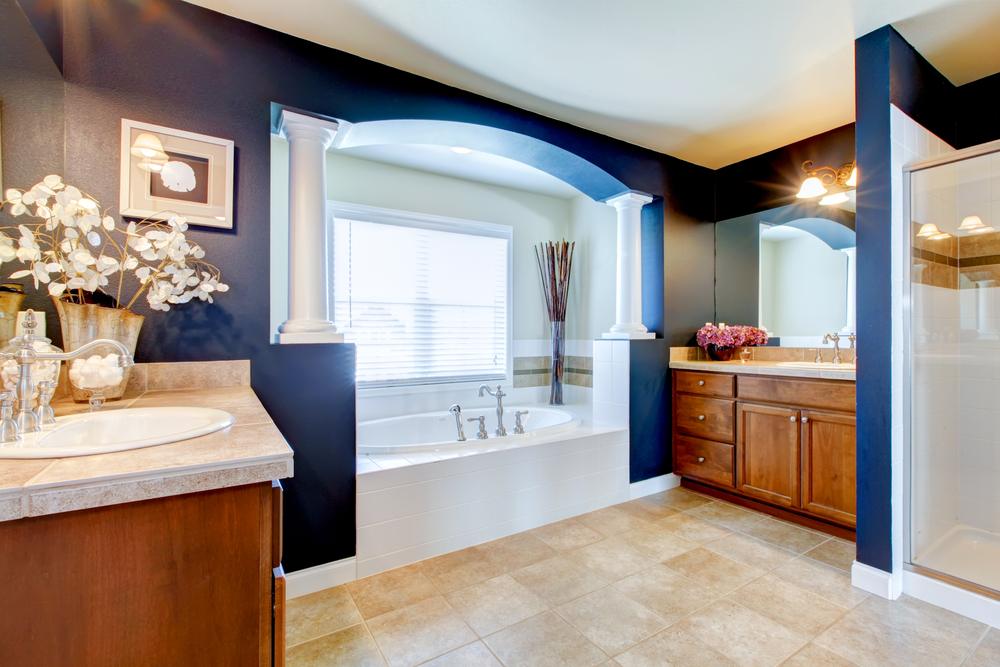 Blue bathroom remodeling ideas