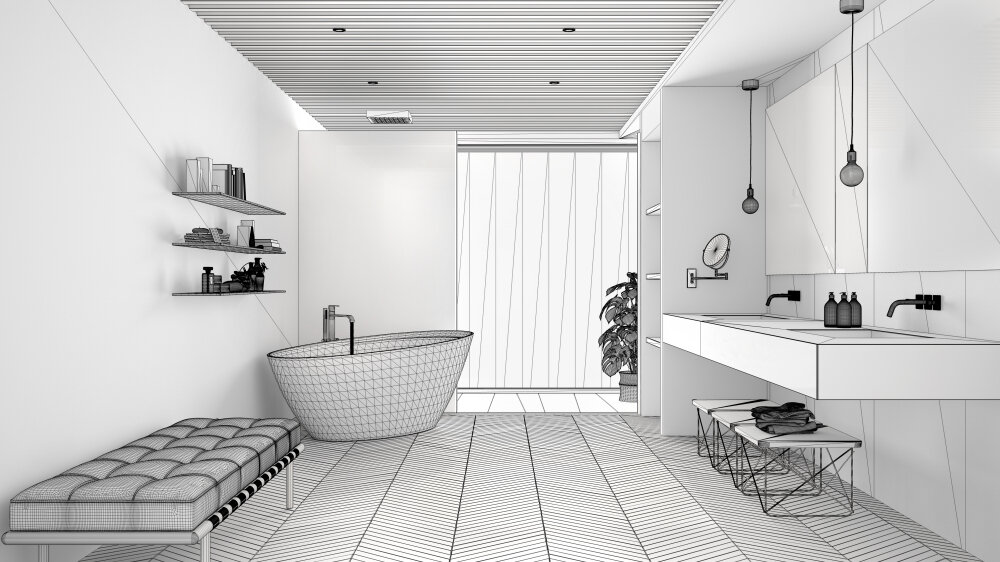Designing residential bathrooms in Hollywood, CA