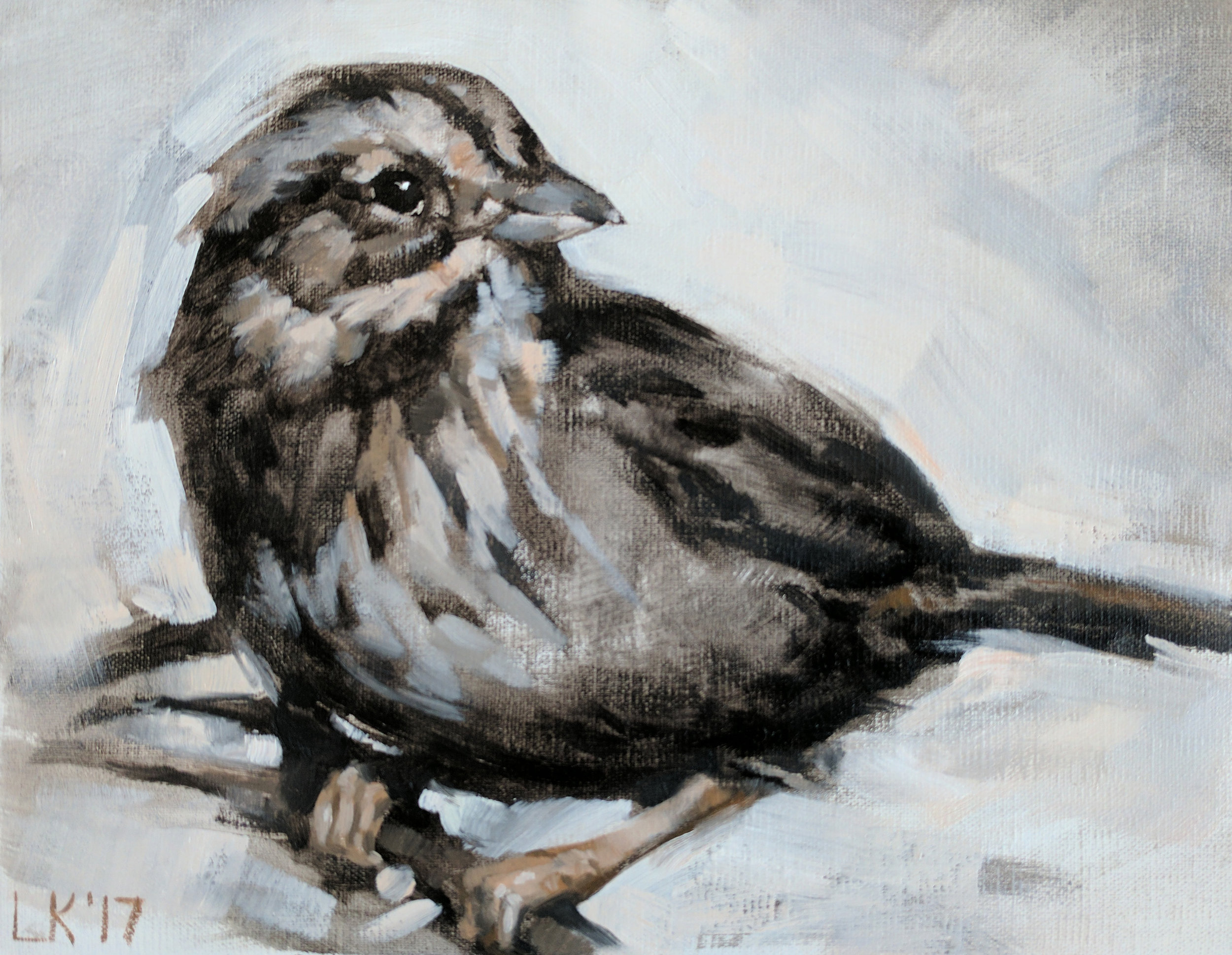 "Small Songbird 10""x8"""