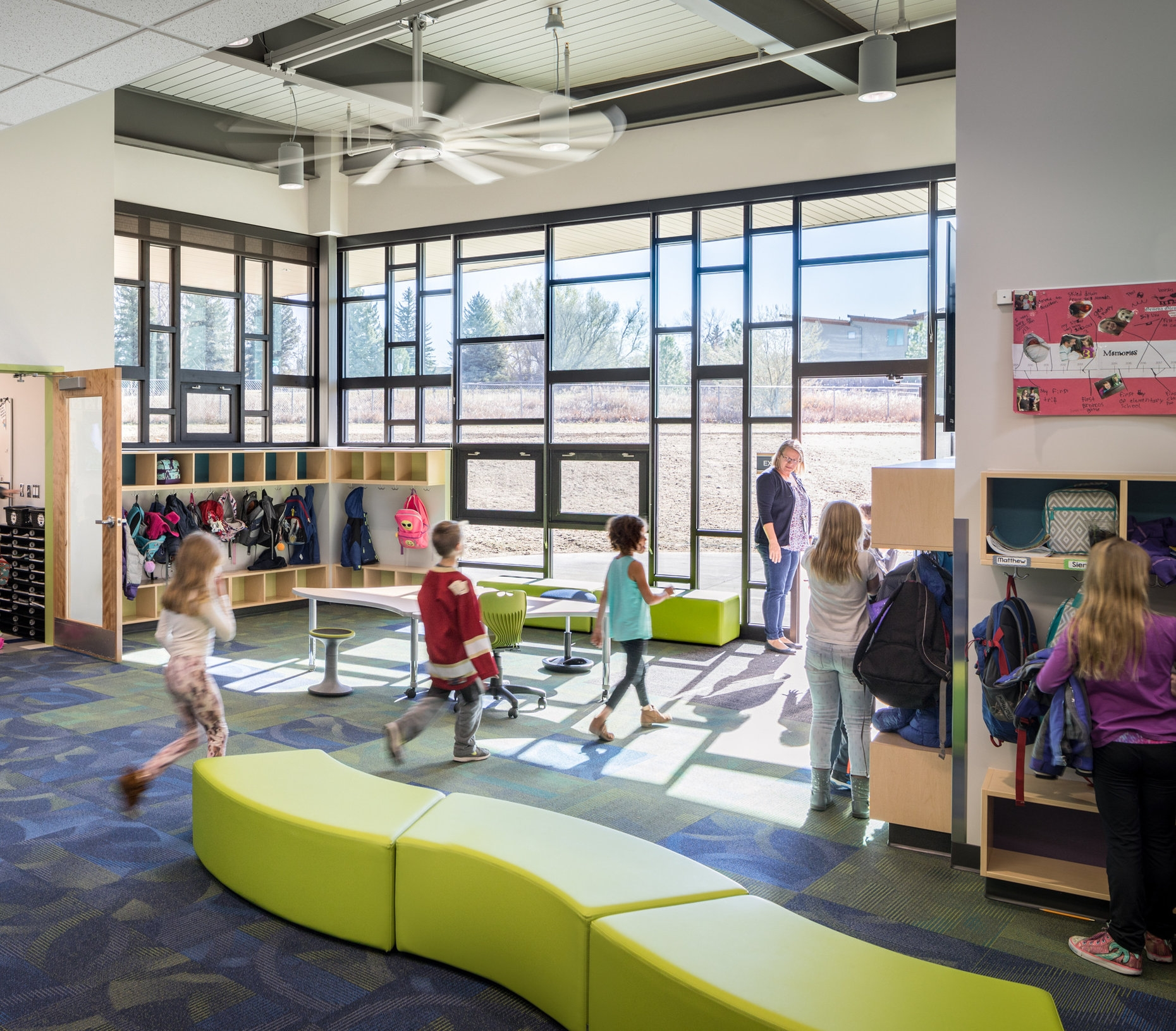 Phase Projects - In addition to the Blueprint Schools, all schools are receiving funds for deferred maintenance and Innovation. Schools access their Innovation Funds ($200,000 for each elementary schools; $400,000 for each middle school; $600,000 for each K-8 school; and $800,000 for each high school) during the Bond Phase that is assigned to their school.BVSD has established processes and guidelines to support schools in the use of their funds. The process begins with an idea for use of the funds and grows from there with the support of Kiffany Lychock, Director of Educational Innovation, and Dave Eggen, Director of Educational Facilities Planning. They support these efforts by generating ideas, meeting with staff, and showing examples of innovative spaces while engaging stakeholders.