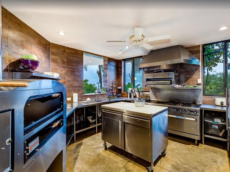 Punta Gabriella's professional kitchen