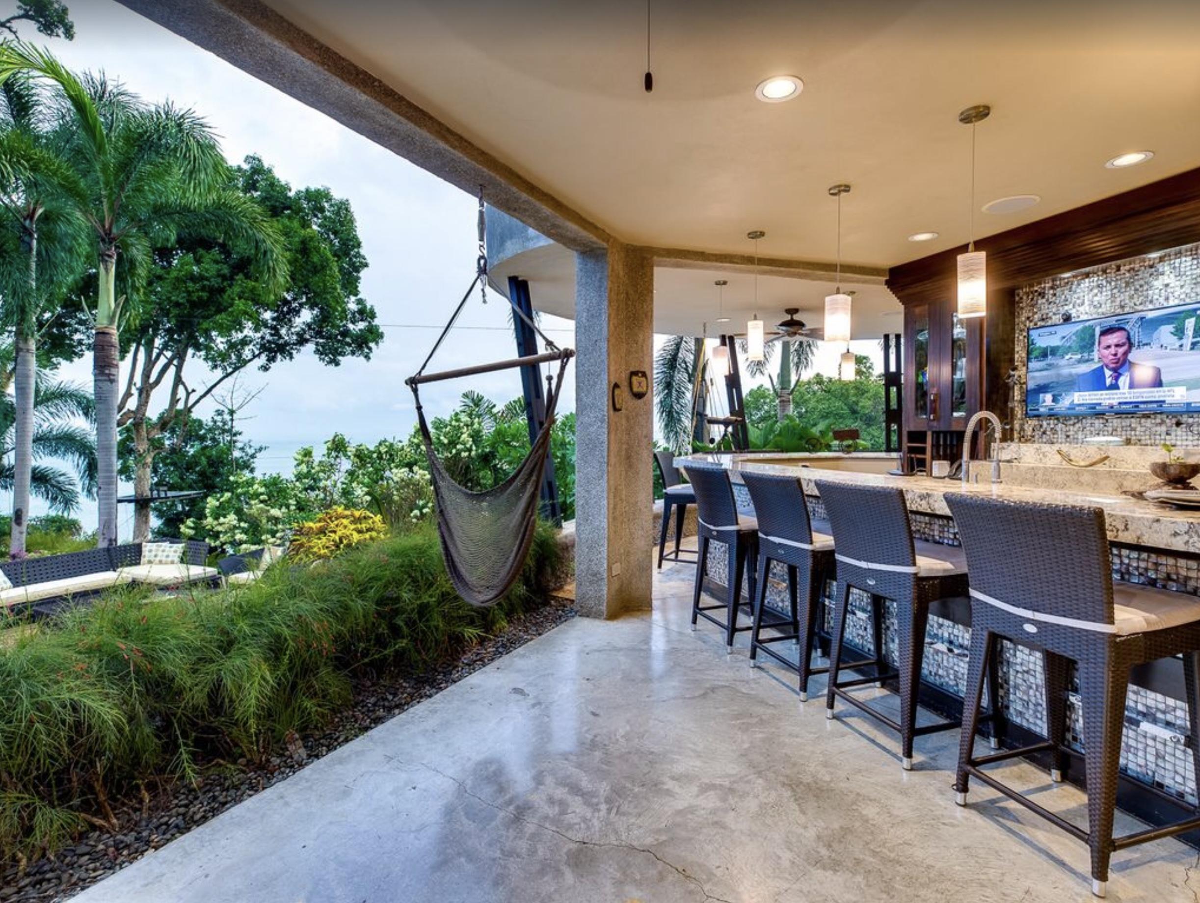 Toucan Chuey's, the onsite  indoor/outdoor bar