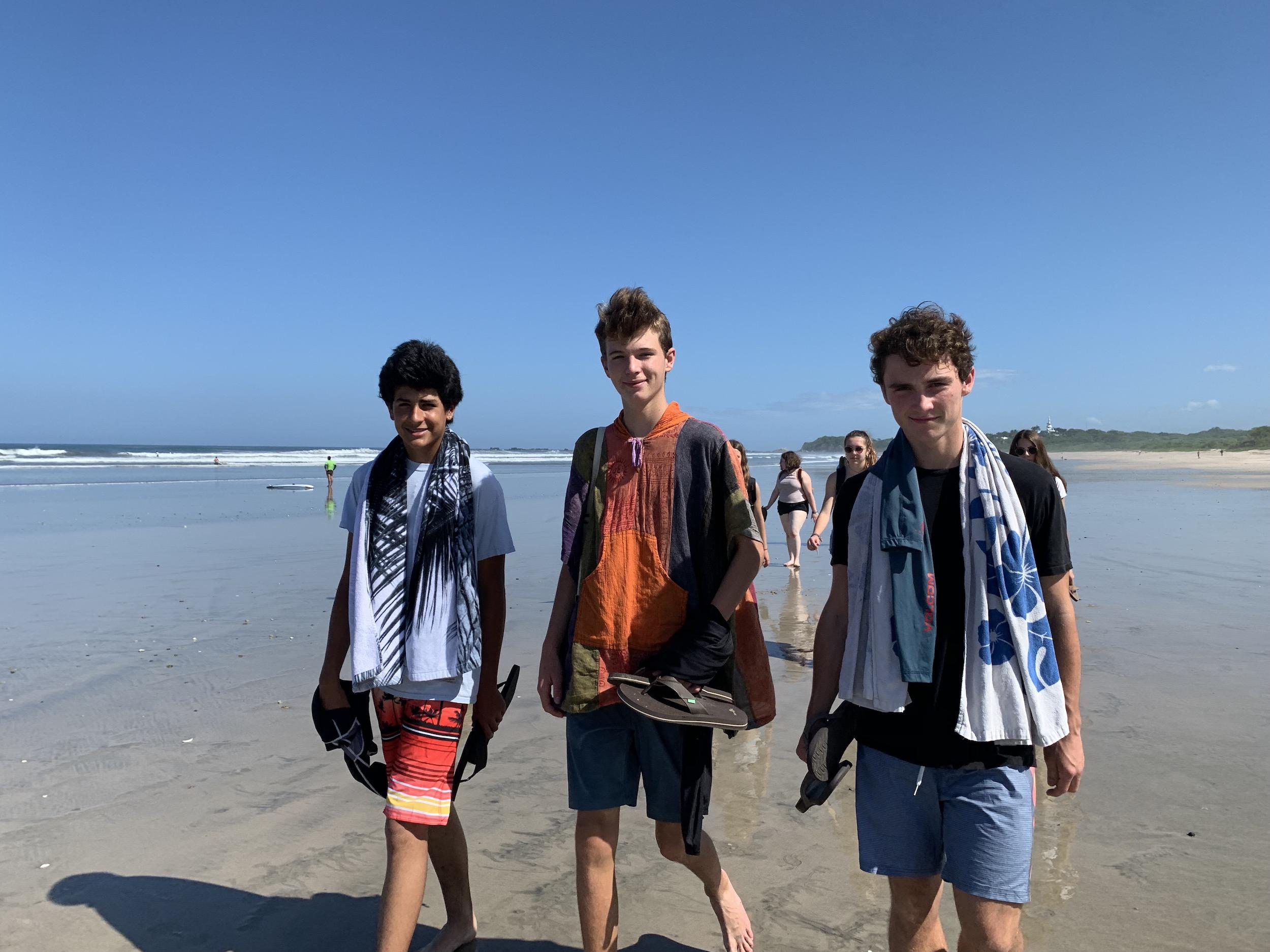 Teen Surf & Yoga members