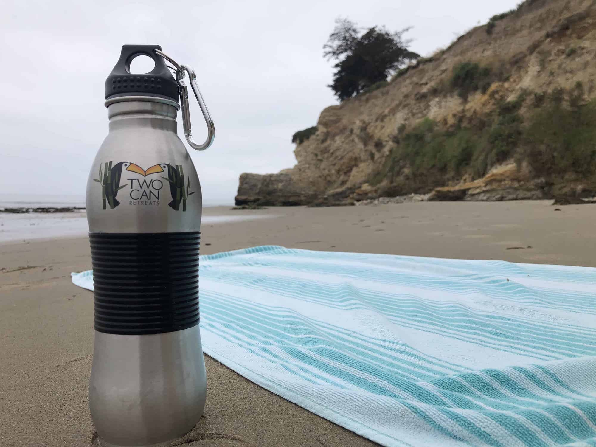 Win a FREE Stainless Steel Water Bottle! - At TwoCan Retreats we're all about fun and adventure, family and community, with a healthy respect for the environment.
