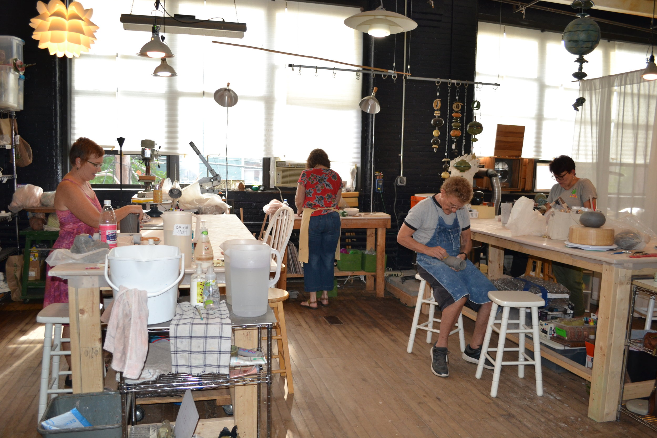 Wednesday Full Day Class at The Studio Rochester.