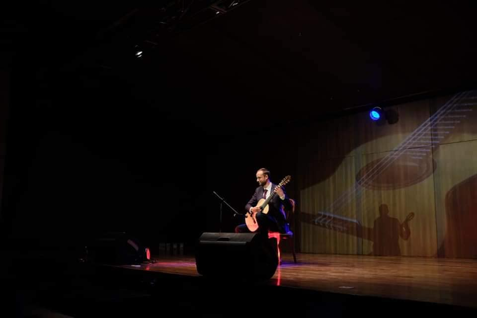 Performing solo in Colombia. I truly loved my first performances in this beautiful country. The audience was so warm and appreciative. I can't wait to come back!