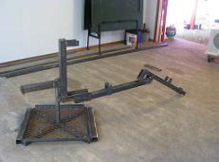 Base, Arms and Central Frame