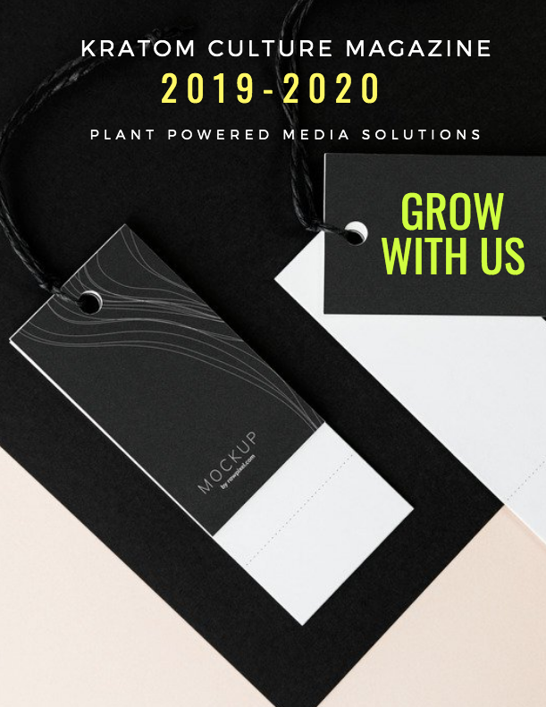 Our Social Media posts reach over 30k consumers on Facebook, Instagram & Twitter - Want to grow your business with Kratom Culture Magazine? Come be part of the Plant Powered Revolution! To advertise, please reach out to us today at info@kratom-culture.com
