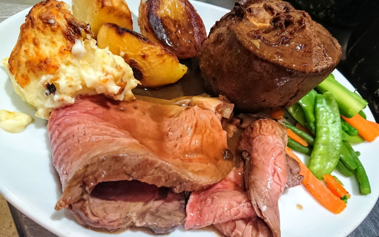 Home made, traditional Sunday Roast! - Selection of two meats most weeks.