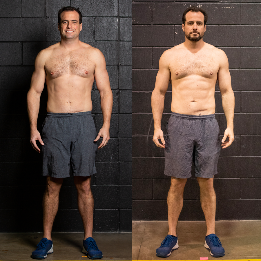 Adam - Lost 6 lbs Lost 1% Visceral FatLost 1.5 Inches