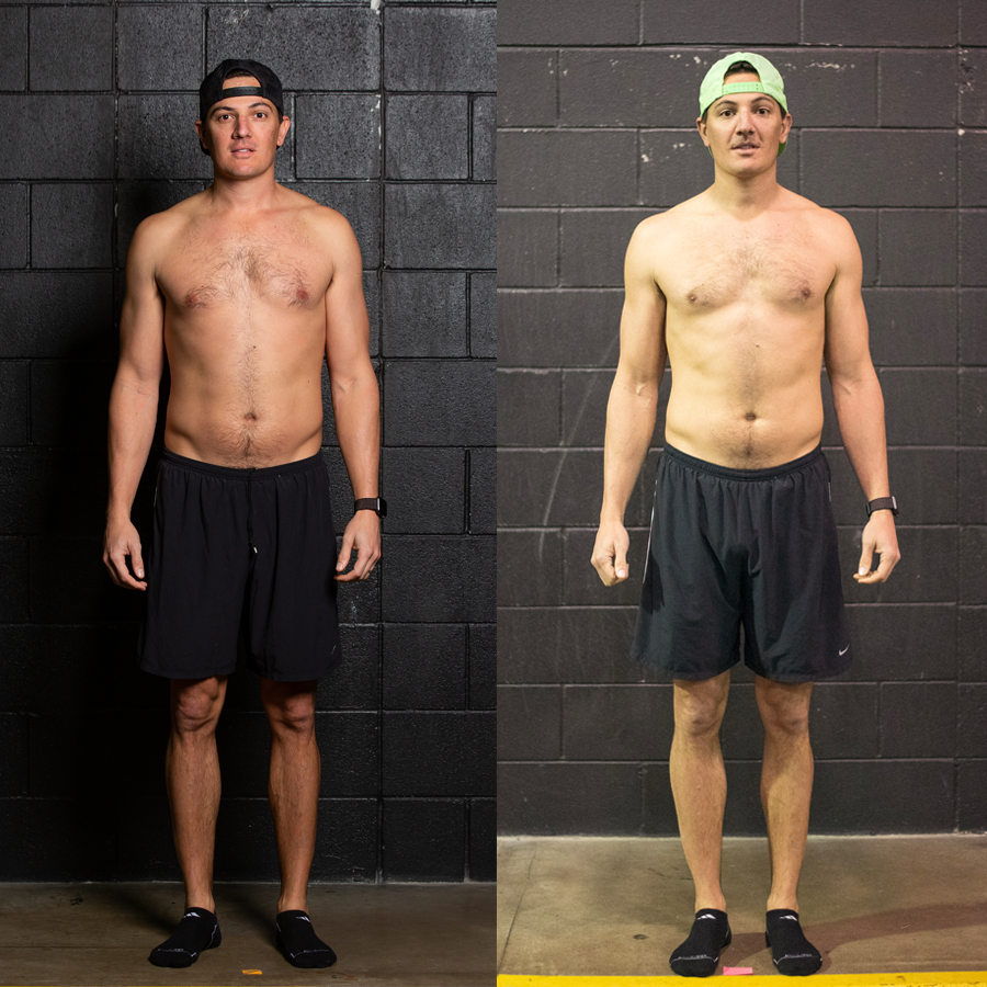 Bryan - Lost 4.5 lbs. Gained 2 lbs. Lean Muscle Lost 2.2% Body Fat