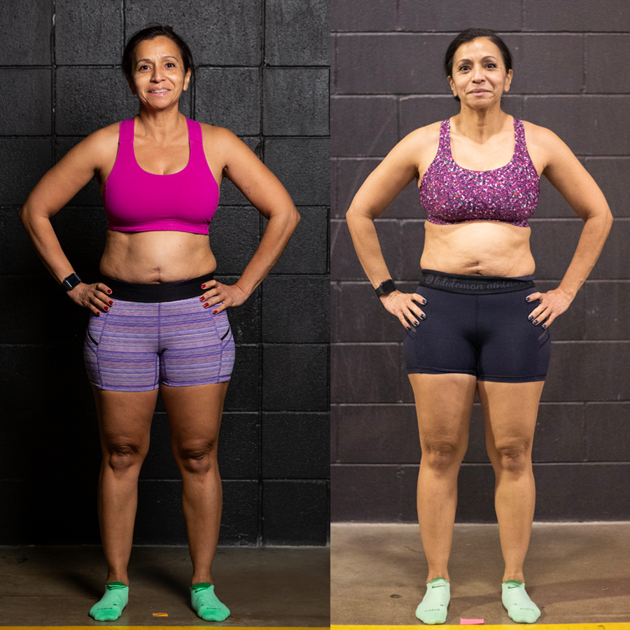 Laura - Lost 2.40% Body Fat Lost 2.9 lbs