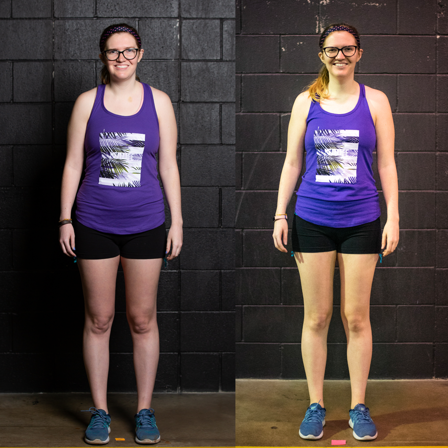 Sarah W - Lost 5.3 lbs Lost 2.50% Body Fat Lost 6.5 inches