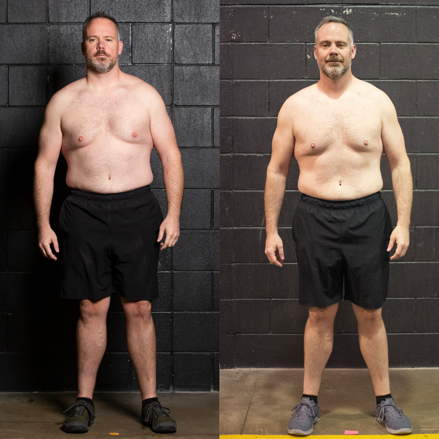 Steve - Lost 11 lbs Lost 2.10% Body Fat Lost 9 Inches
