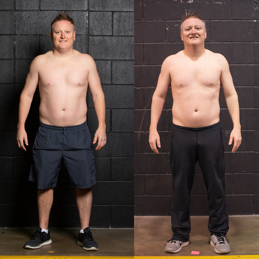 Bill - Lost 1.8 lbs. Lost 1.7% Body Fat