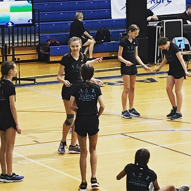 Scenes from competition day! #amjrnc2019 #skipsations #havefun #jumprope