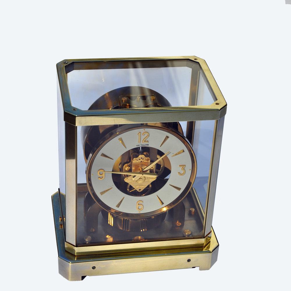 ORIGINAL LE COULTRE ATMOS PERPETUAL MOTION CLOCK STYROFOAM BOX !!