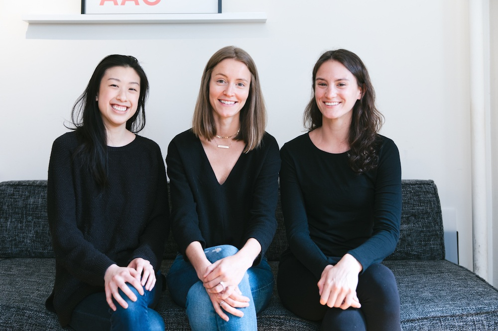 The Silver Linings Group Marketing Team featuring Danielle Radulski, Maggie Hayes, and Gillian Shieh.