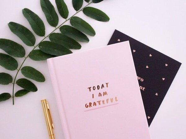 I am grateful journal to update language