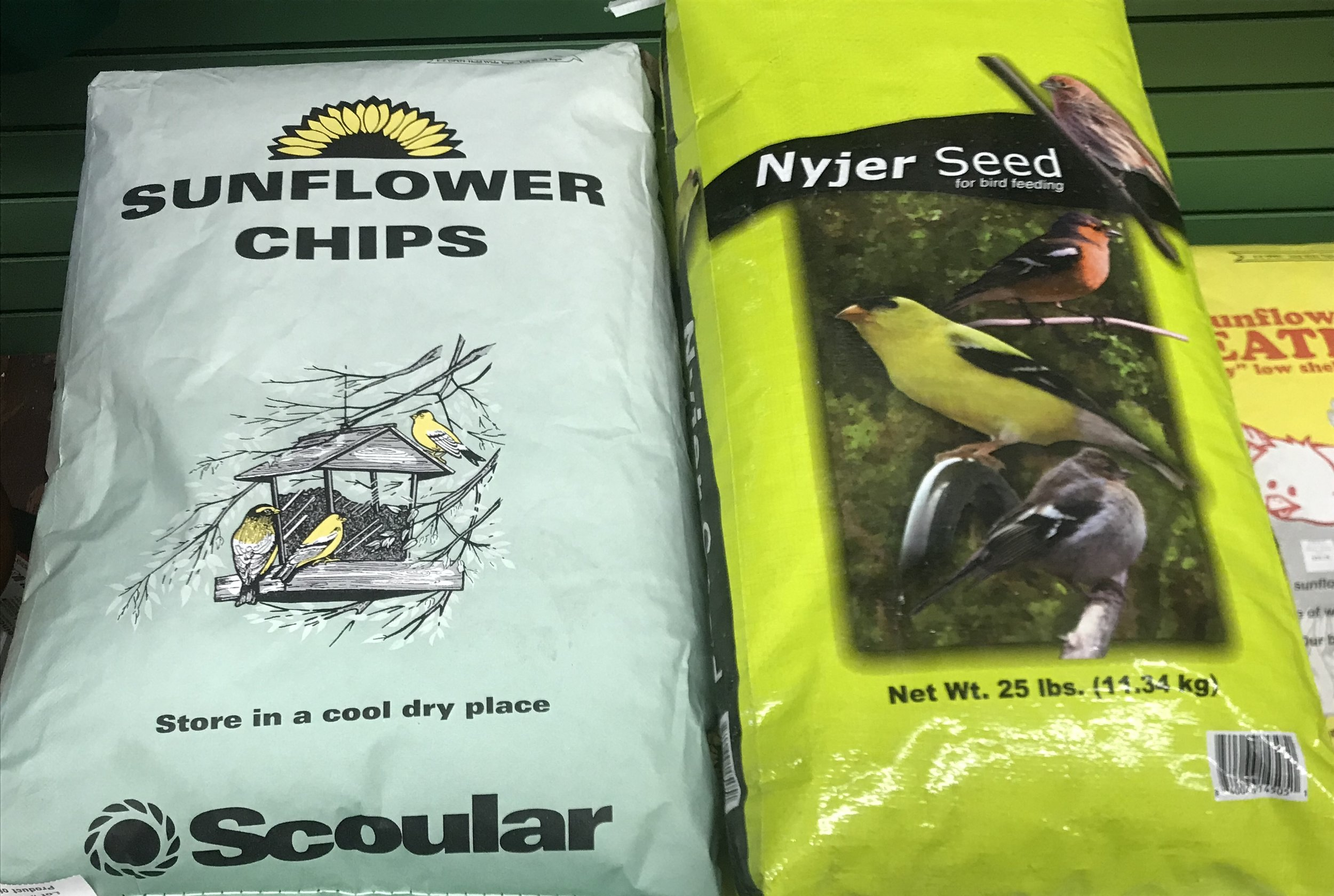 We have a wide variety of seeds!