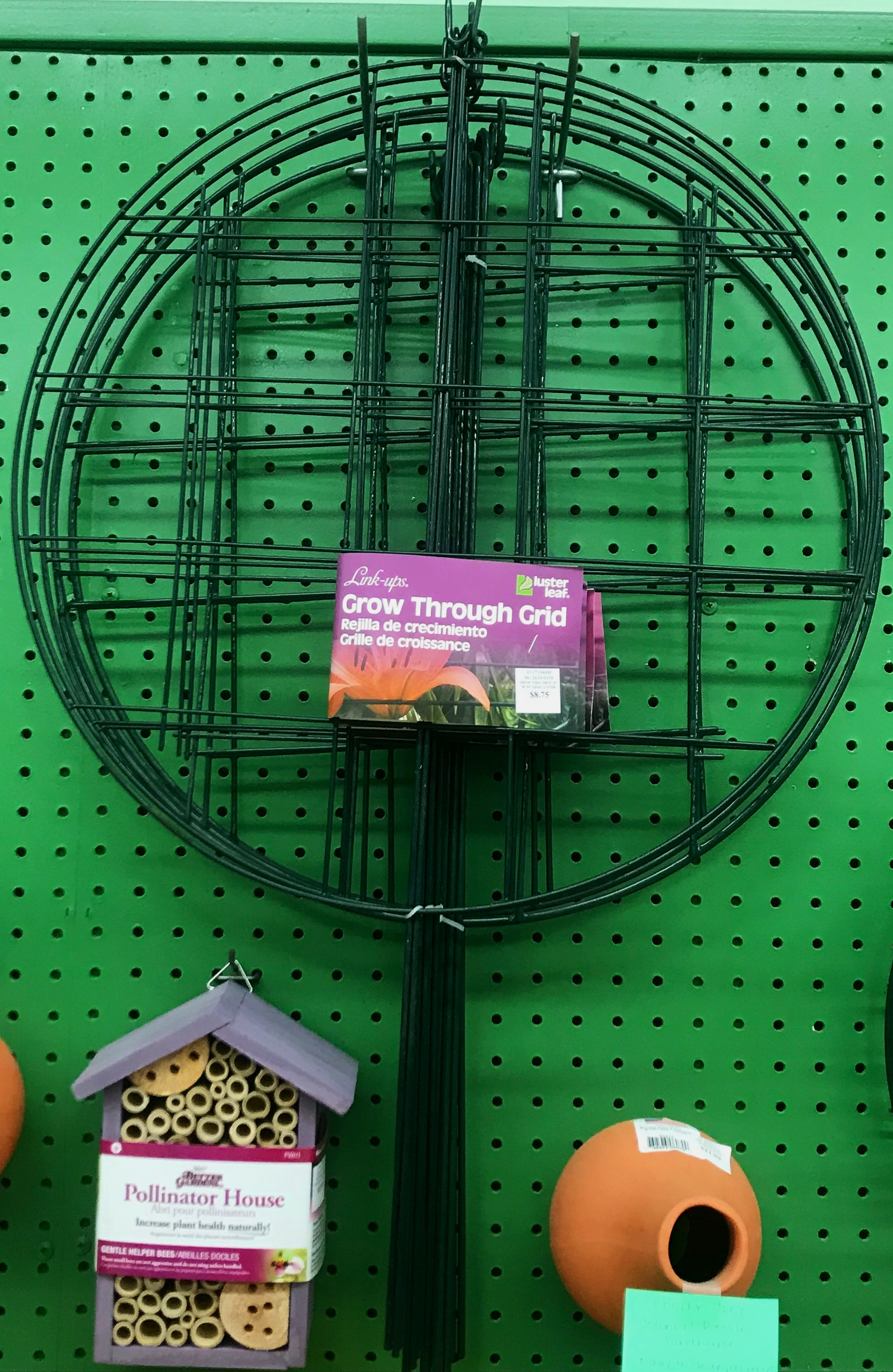 We have a variety of plants props, both for your ornamentals and for things like tomatoes!