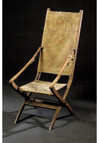 George A. Custer Indian Wars Camp Chair