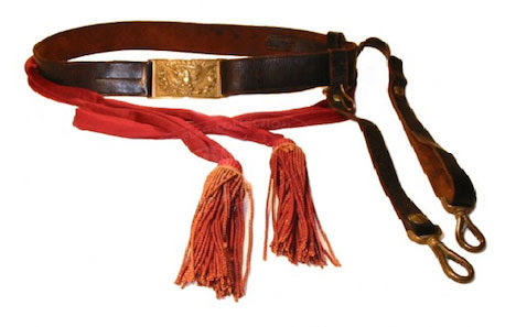 Model 1851 Sword-Belt Plate, Belt, and Sash