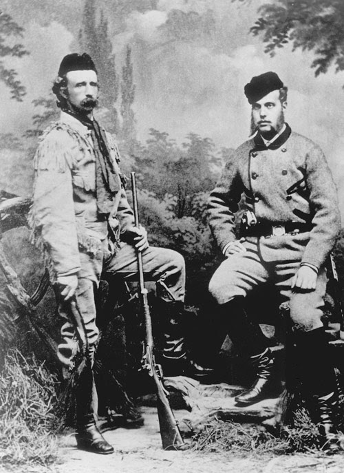 George A. Custer and Grand Duke Alexis
