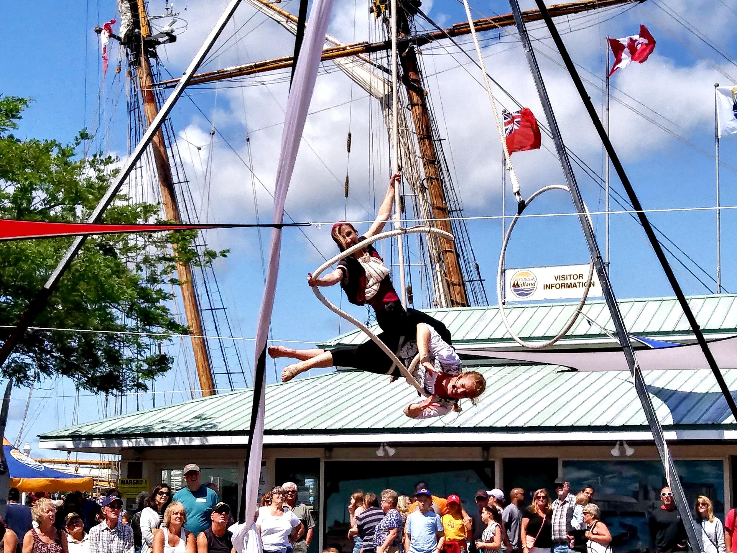 Aerial Pirate Show