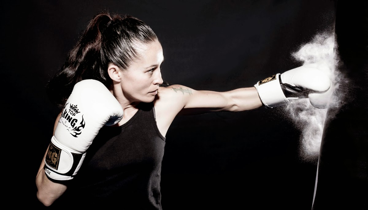 girl kickboxing black and white.jpg