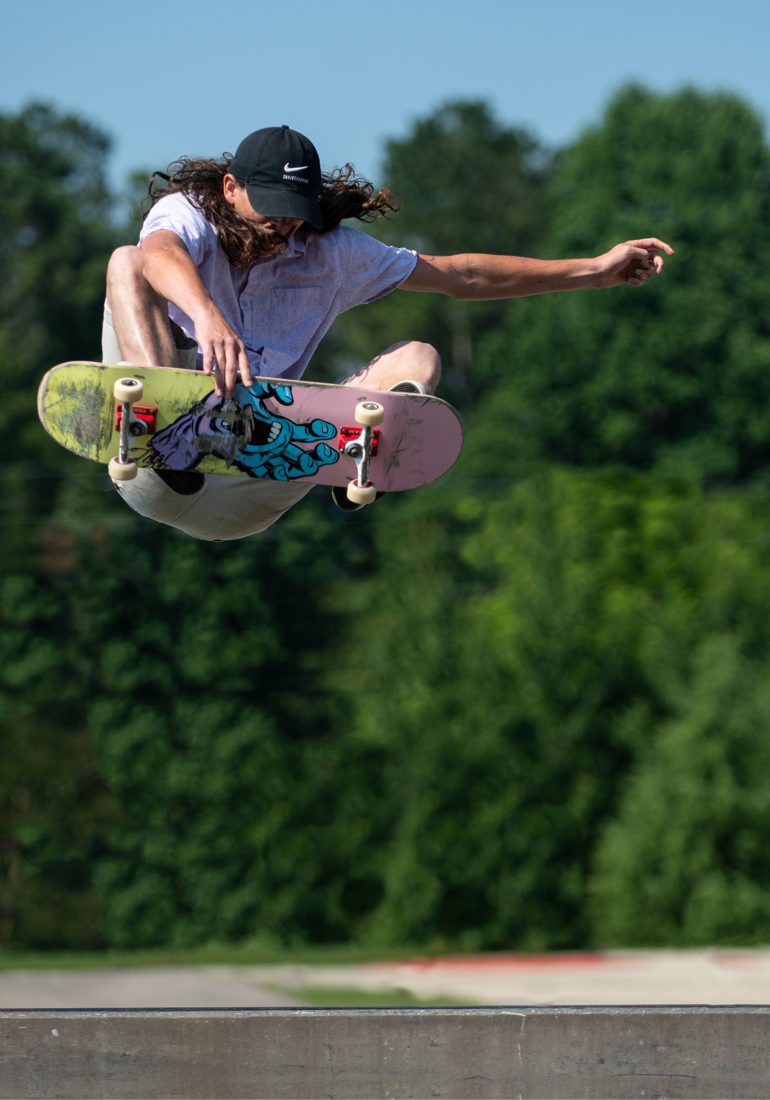Swift Cantrell Skateboard Park action.