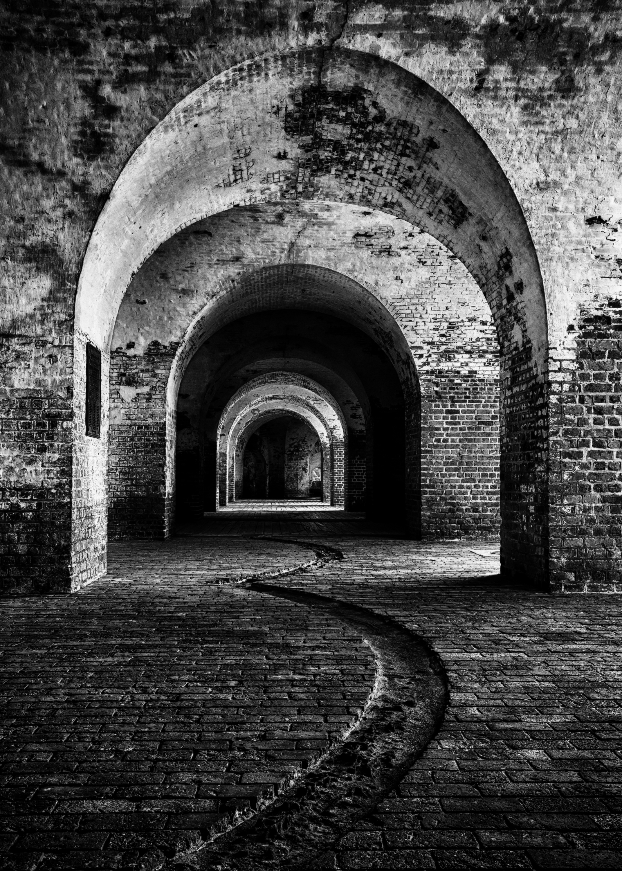 """""""Fort Repitition"""" was photographed at  Fort Pulaski National Monument  in Savannah GA."""
