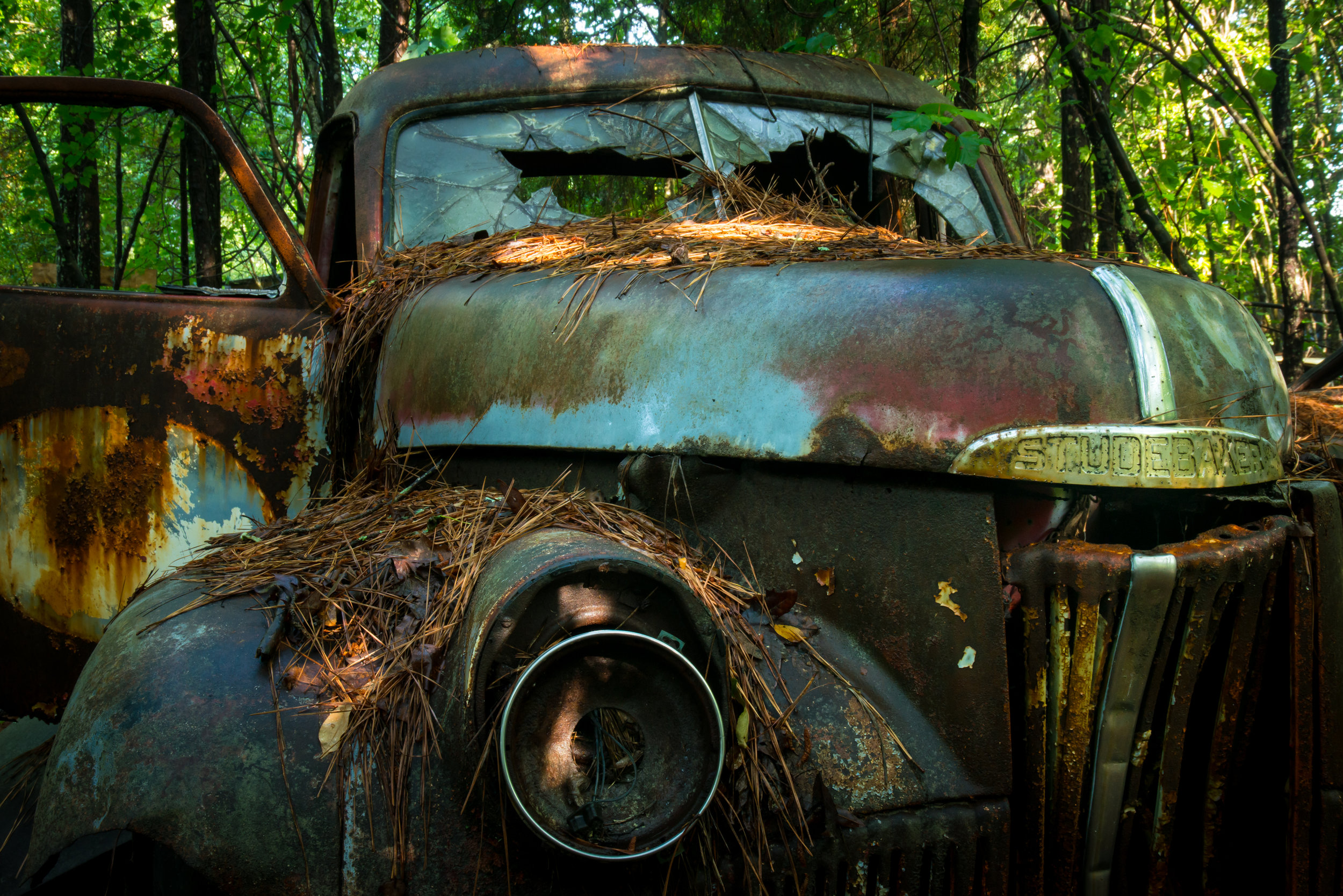 My dad worked for Studabaker when I was a young boy. THis is a survivor at  Old Car City USA  in White GA.