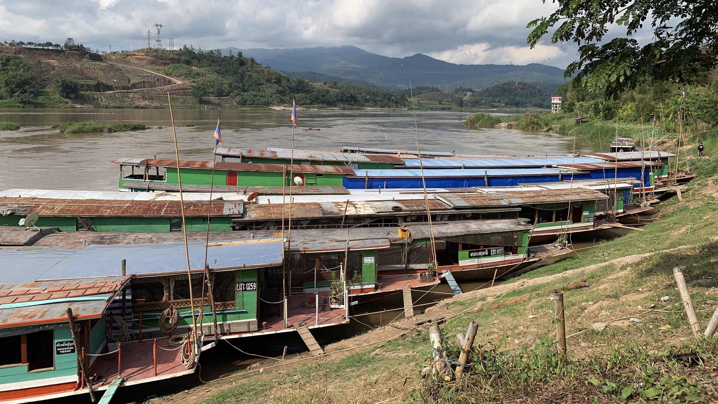 16 - hours on the Mekong River via slowboat