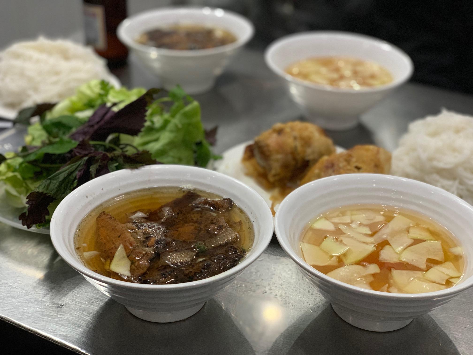 9 - orders of Bun Cha consumed (our favorite)
