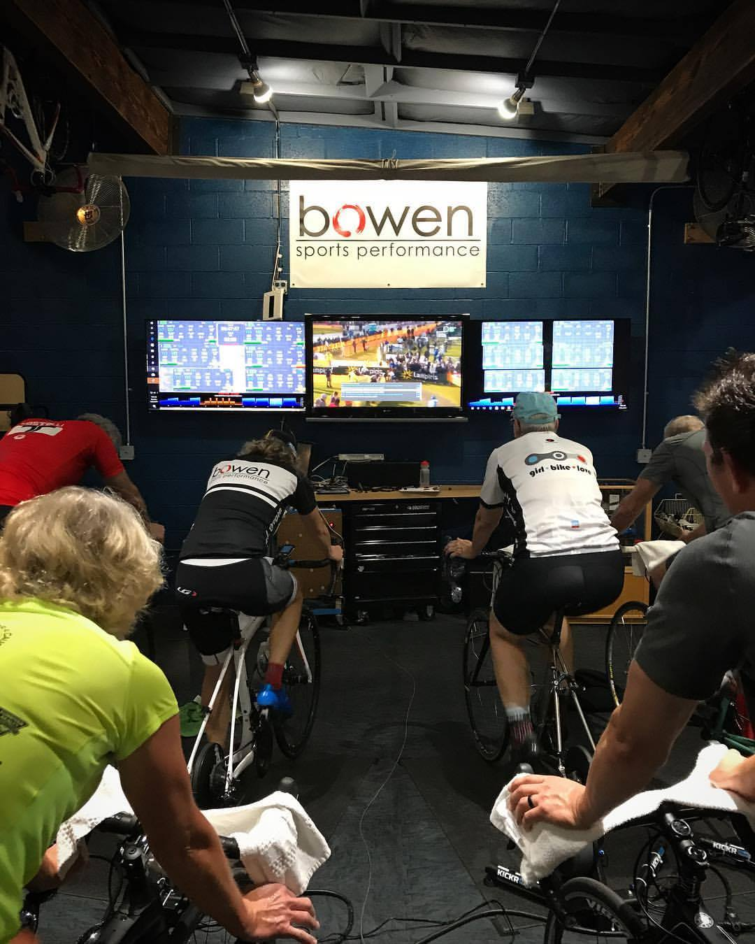 Regular group workouts happen at Bowen Sports Performance almost every day of the week.