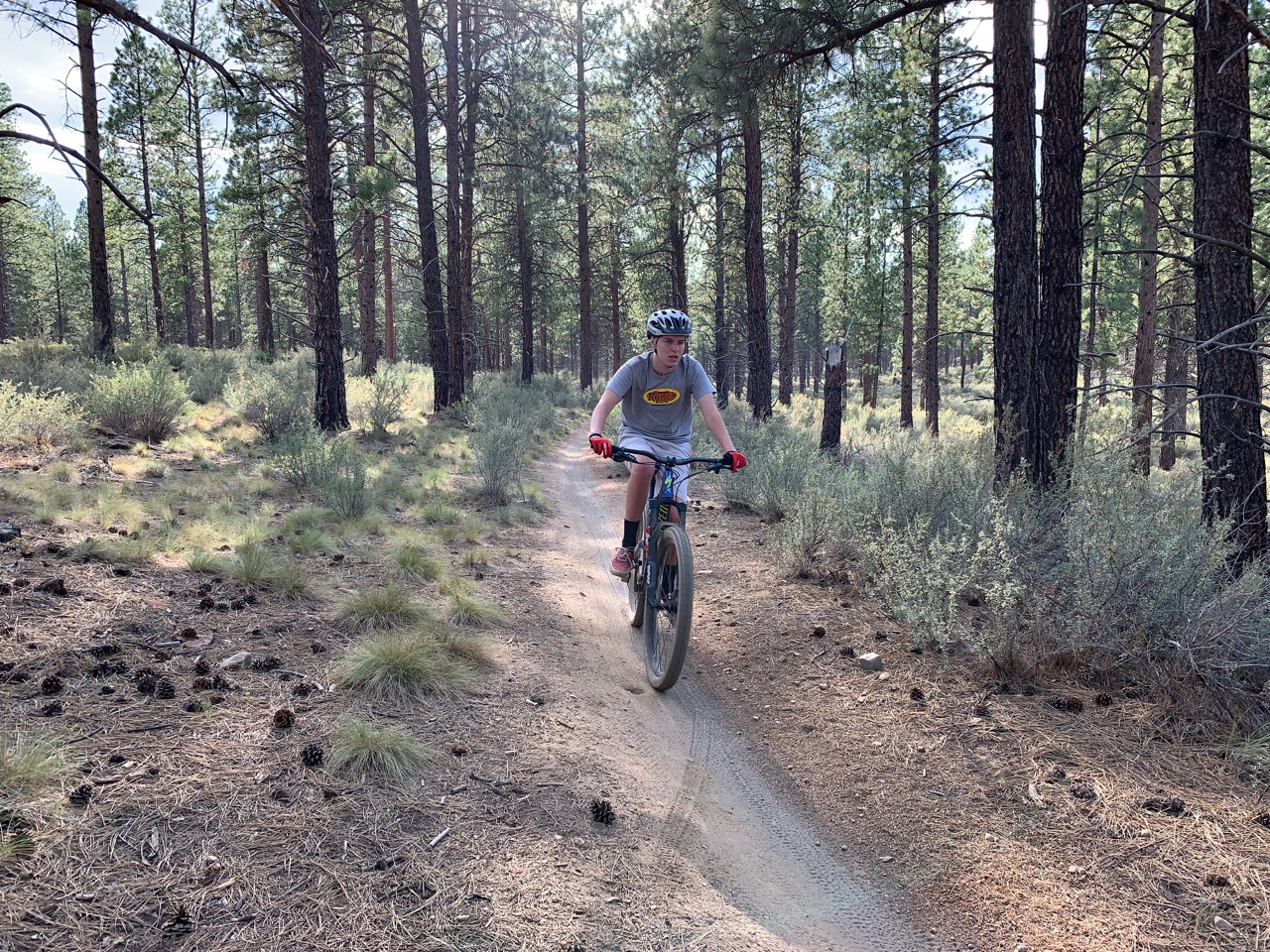 Kent's Trail is great for all ages and riding levels.