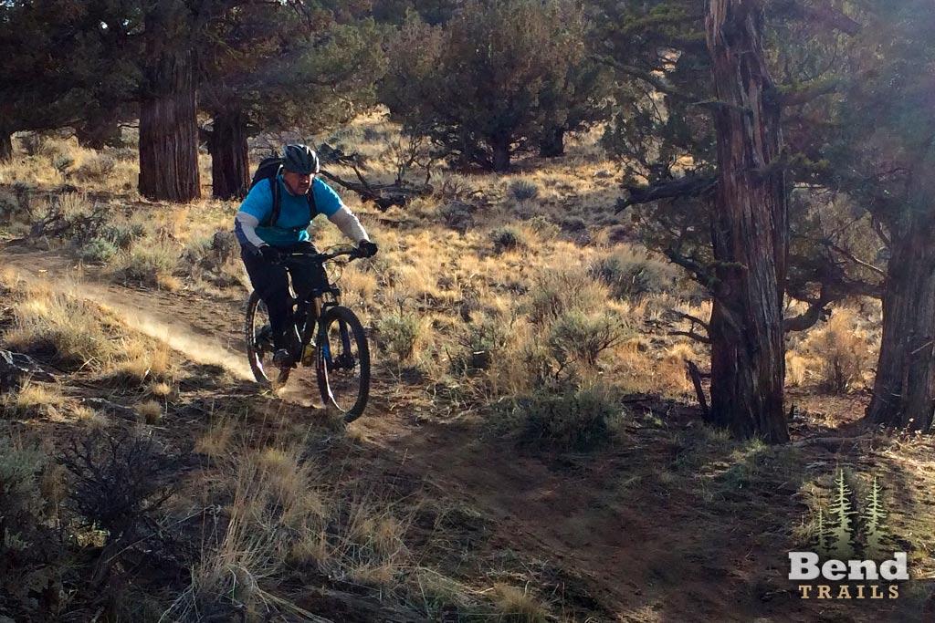 Sand Canyon descent. Credit: Bend Trails.