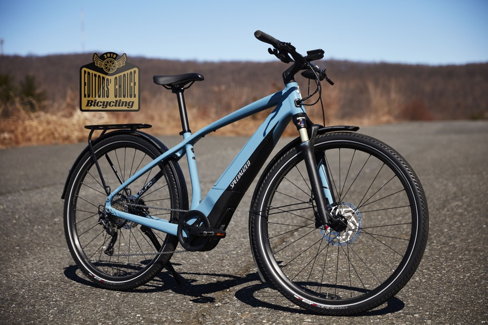 """ The Specialized Turbo Vado 3.0 Will Make You Fall in Love with E-bikes ."" Bicycling Magazine's 2019 Editors Choice."