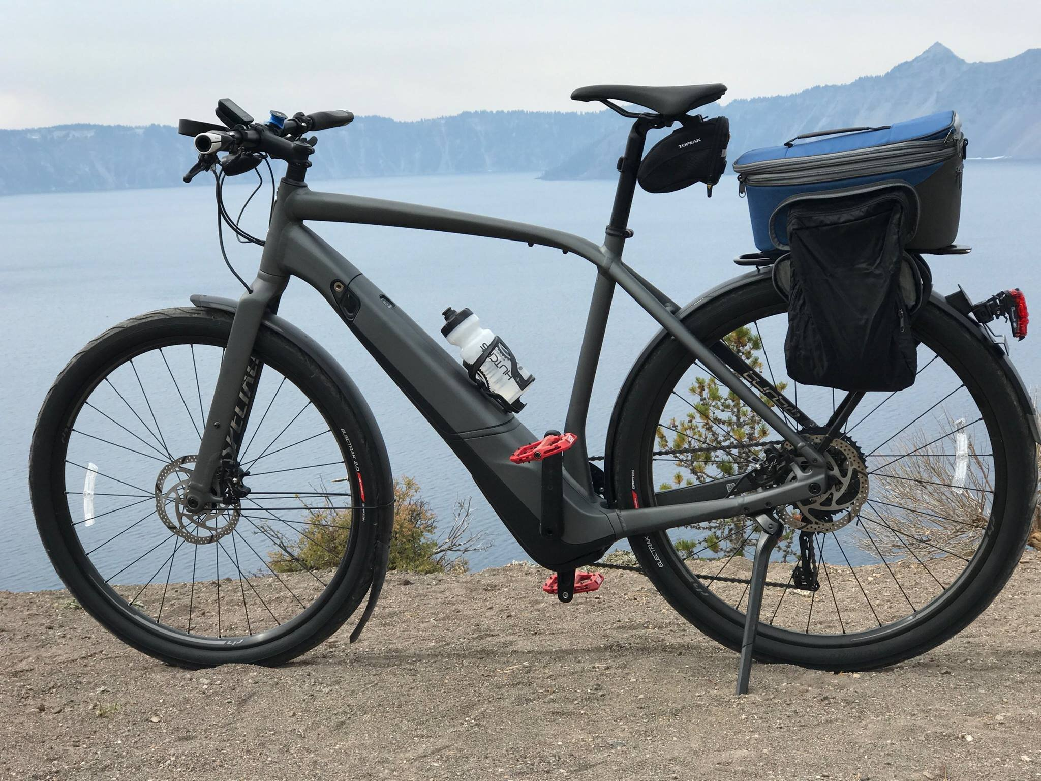 My class 3 Specialized Vado 5.0 at Crater Lake.