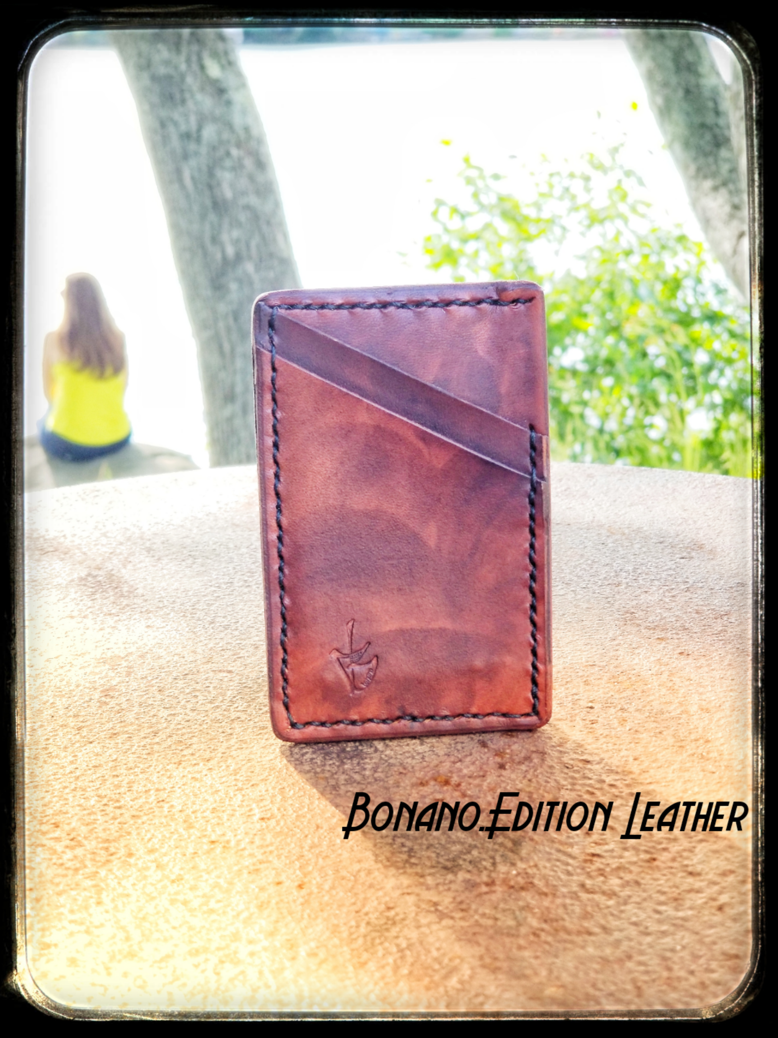 100% Genuine Leather - Bonano.Edition Leather wallets are genuinely handmade from start to finish. See the quality. Feel the quality.
